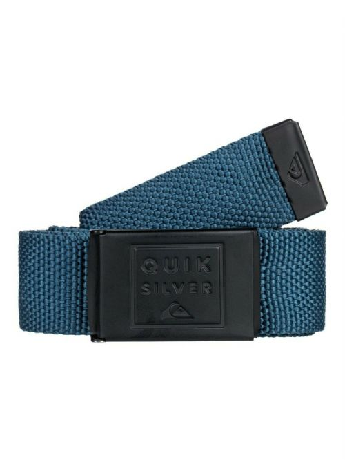 QUIKSILVER MENS BELT.PRINCIPLE III 32mm BLUE WEBBING TROUSERS JEAN STRAP S20 92